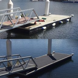 pontoon restoration